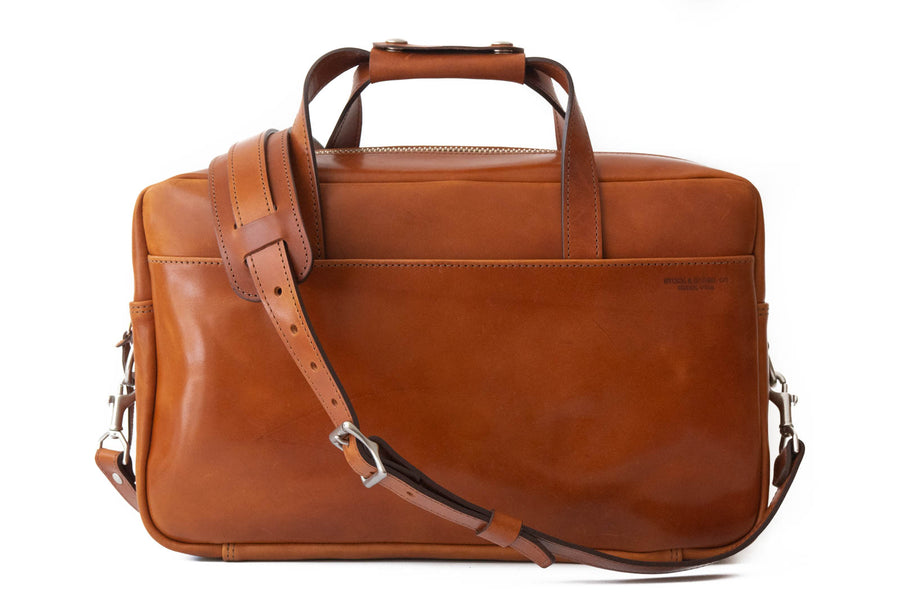 No.56 | 'Buck Brown' Harness Leather Briefcase