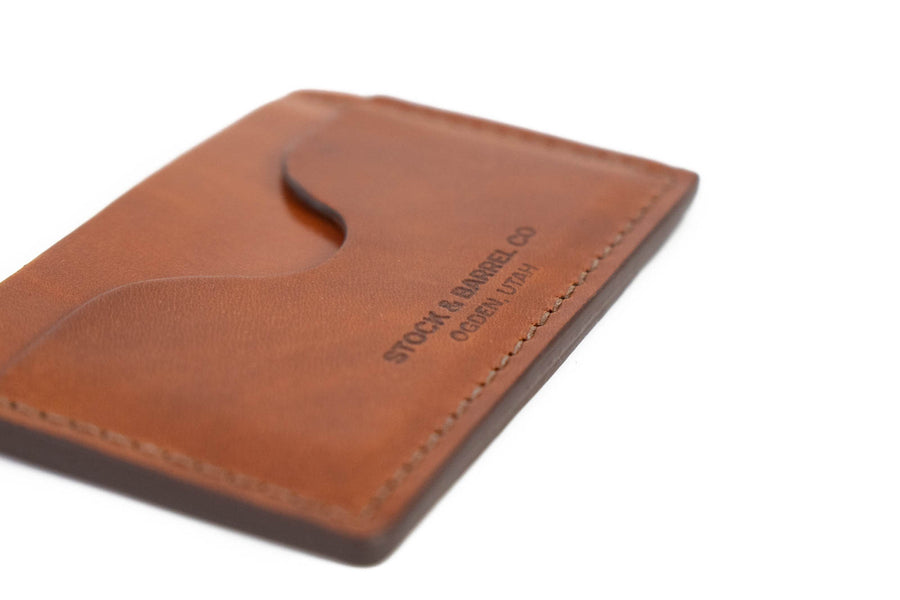 No.54 | 'Buck Brown' Minimalist Leather Wallet