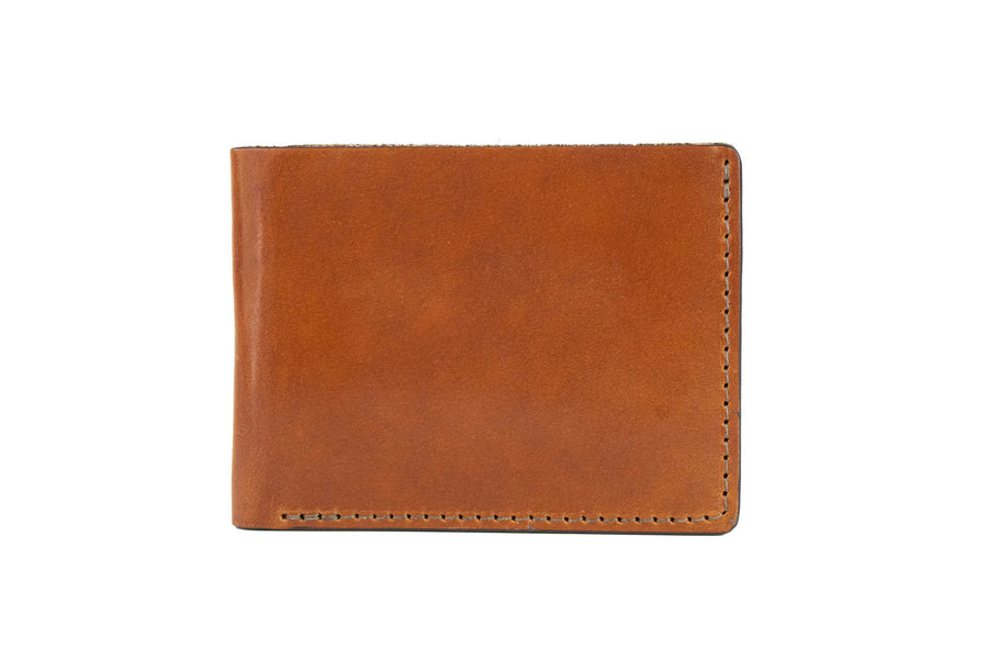 No.55 | 'Buck Brown' Men's Leather Bill Fold Wallet