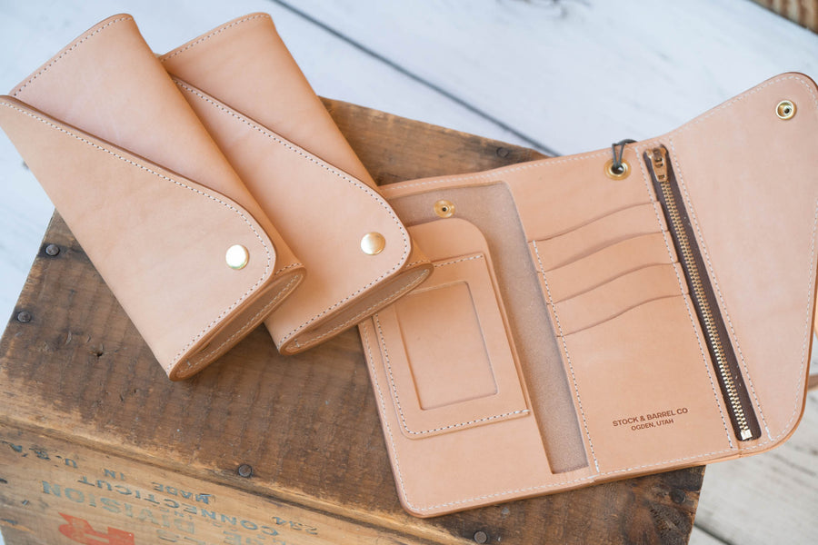 No.59 | Leather Trucker Long Wallet