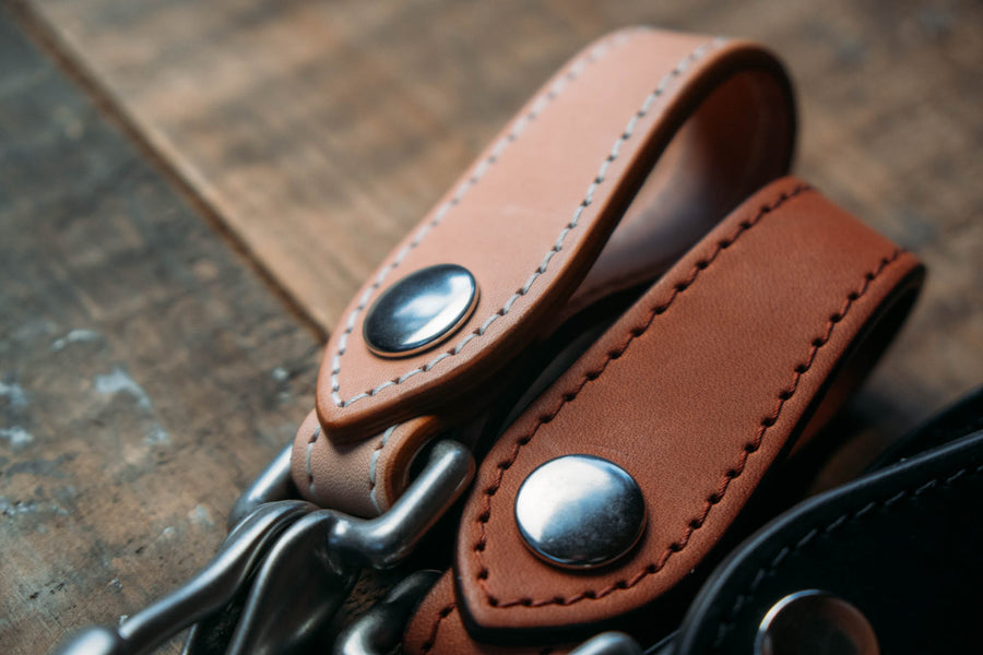 No.71 | 'Natural Oak' Leather Key Piece