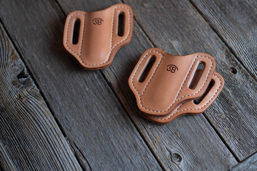 Blemished | No.87 | Leather Trapper Knife Sheath