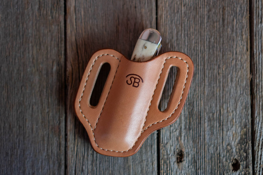 No.87 | Leather Trapper Knife Sheath