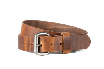 No.6 | 'Redford' Rugged Leather Men's Belt