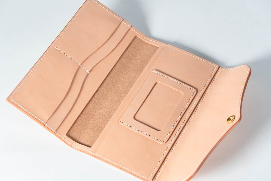 No.76 | Leather Women's Long Wallet
