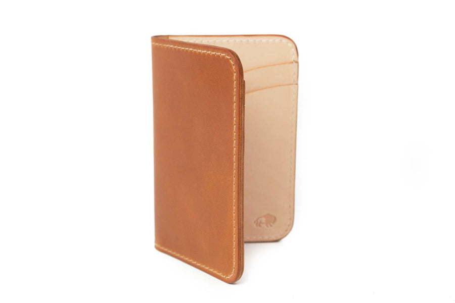 No.52 | 'Whiskey' Shell Cordovan Vertical Wallet
