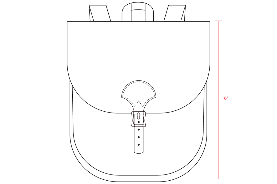 No.82 | Saddlebag Backpack (Digital Pattern)