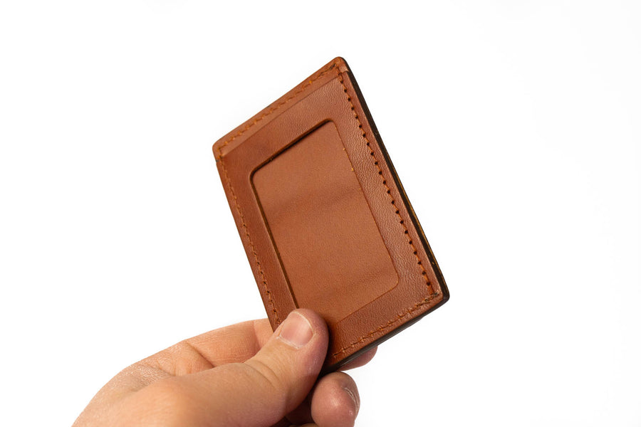 No.54 | 'Chestnut' Minimalist Leather Wallet