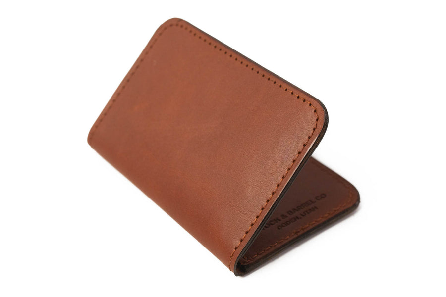 No.52 | 'Chestnut' Vertical Leather Wallet