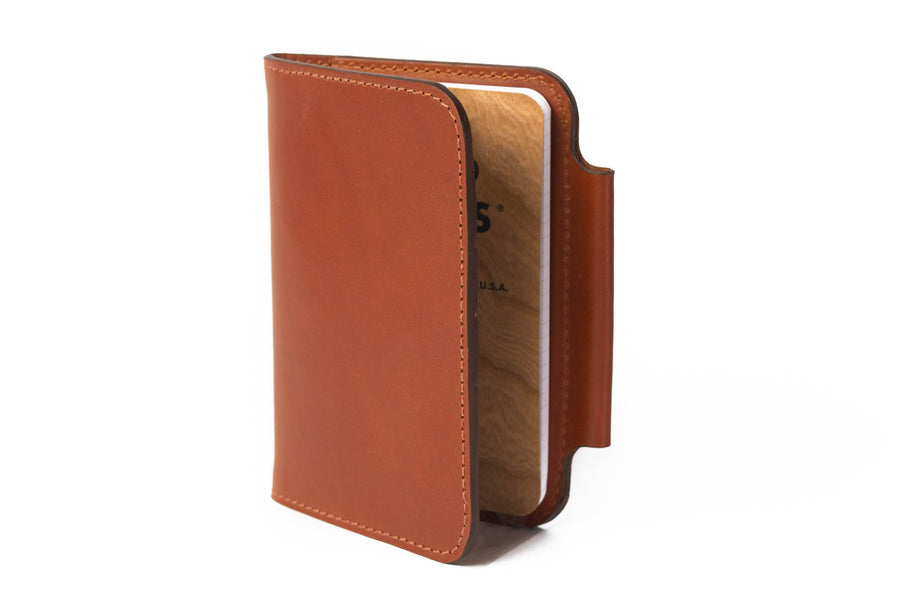Blemished | No.77 | 'Chestnut' Notebook Passport Wallet