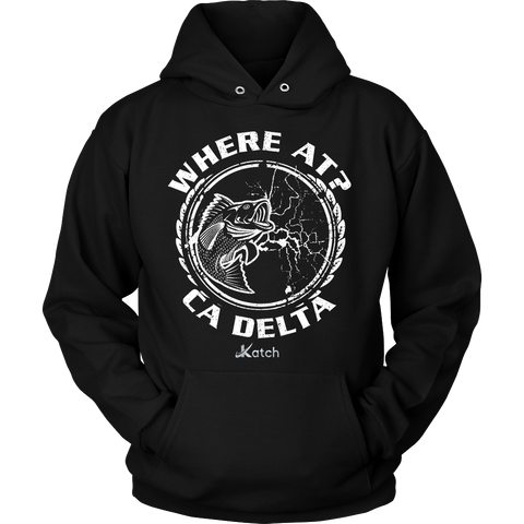 Where At? Hoodie - Katch Fishing  - 1