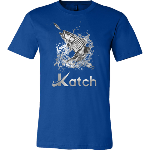 Striper Explosion Tee - Katch Fishing  - 1