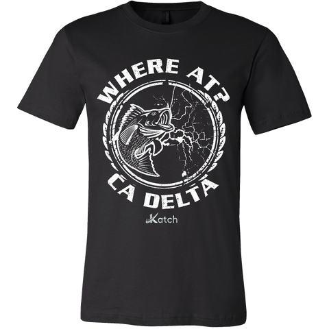 Where At? T-shirt - Katch Fishing  - 1