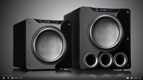 SVS 16-Ultra Subwoofer Technology Overview