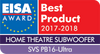 EISA Award - Best Product 2017-2018