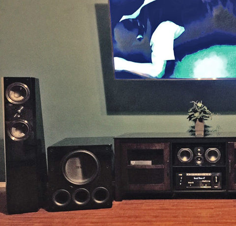 Featured Home Theater System: David in Laredo, TX