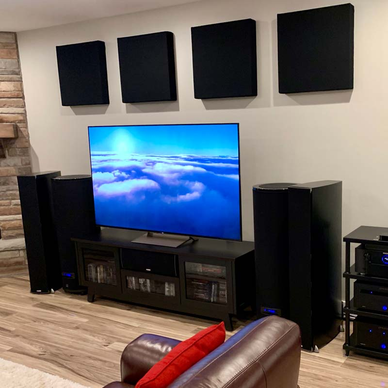 Featured Home Theater System: Mark in South Jordan, Utah