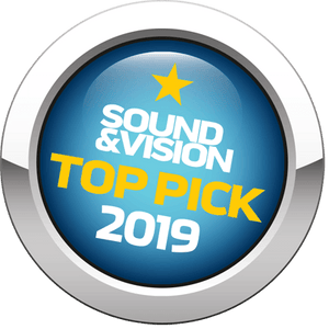 Sound & Vision - Top Pick 2019 Award