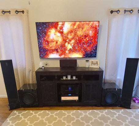 SVS Featured Home Theater System: Andrew K. from Santa Barbara, CA