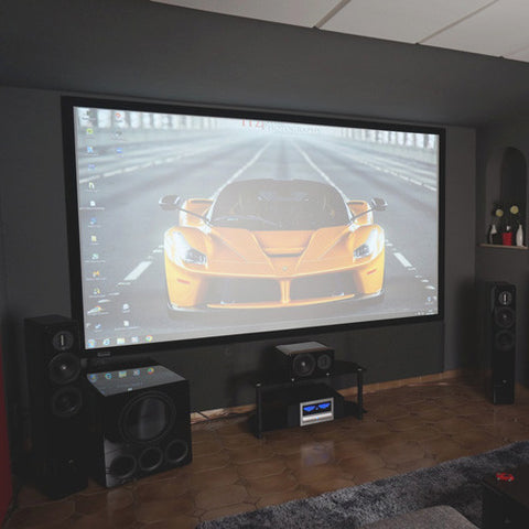 Featured Home Theater System: Alfonso in Germany