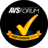 AVSForum - Top Choice 2017 Award