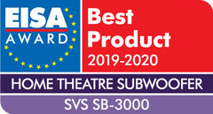 SB-3000 Subwoofer Receives the EISA Best Product Award for Home Theater Subwoofers