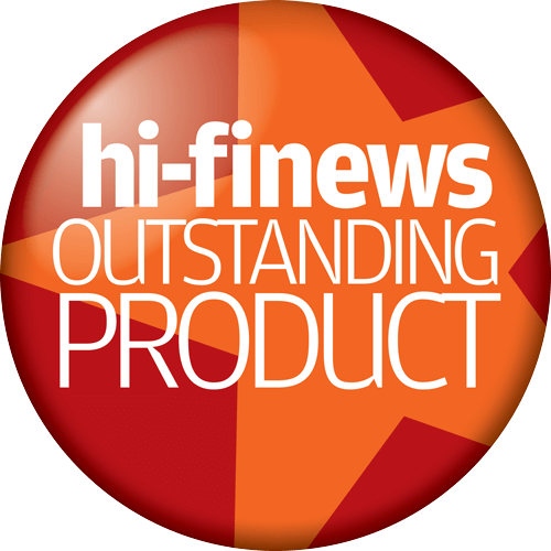 "Hi-Fi News ""Outstanding Product"" Award"