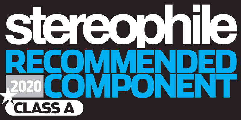 "Stereophile ""Recommended Component 2020"" Award"