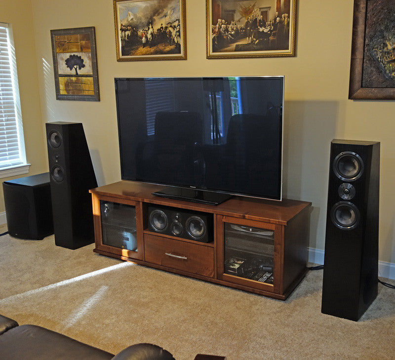 Featured Home Theater System: Justin in McDonald, PA