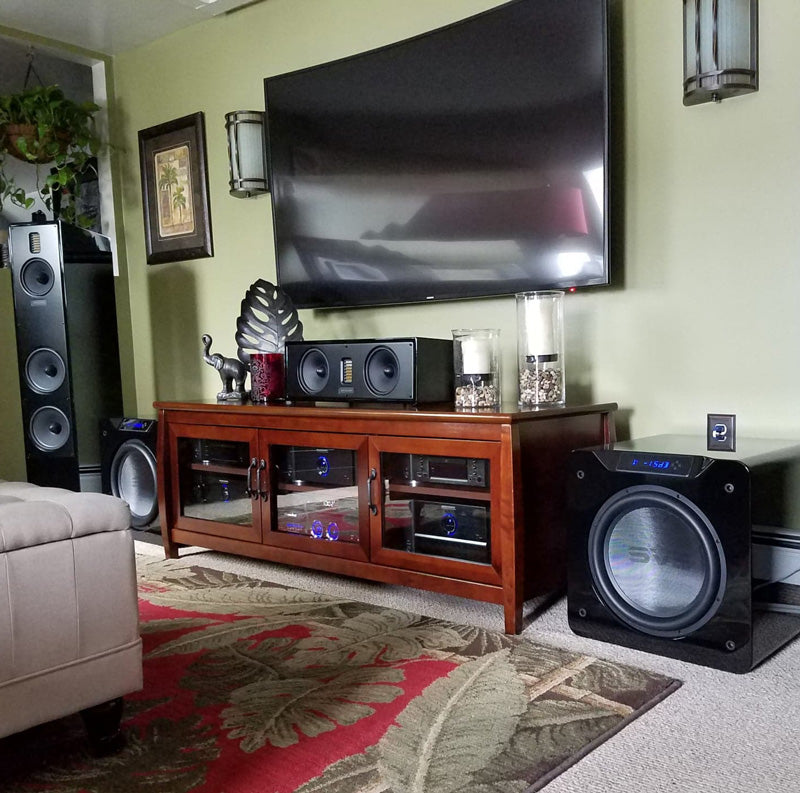 Featured Home Theater System: Ryan in Rockland, MA