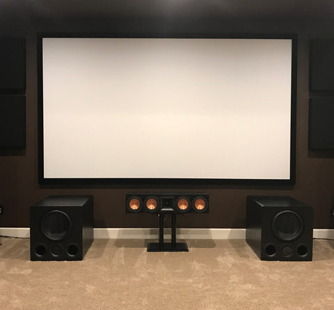 Featured Home Theater System: Chad S. in Denver, CO