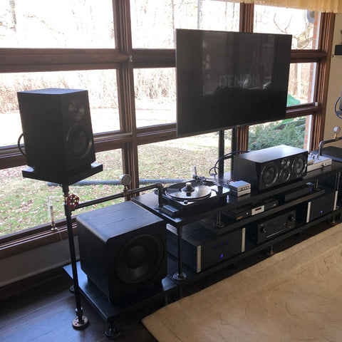 Featured Home Theater System: Michael W. in Westland, MI