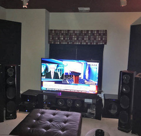 Featured Home Theater System: James in Charlotte, NC