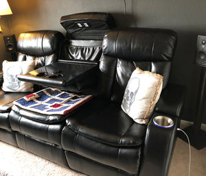 Featured Home Theater System: CPL. Steven E. in Denver, CO