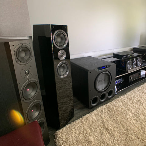 Featured Home Theater System: Chris M. from Grand Prairie, TX