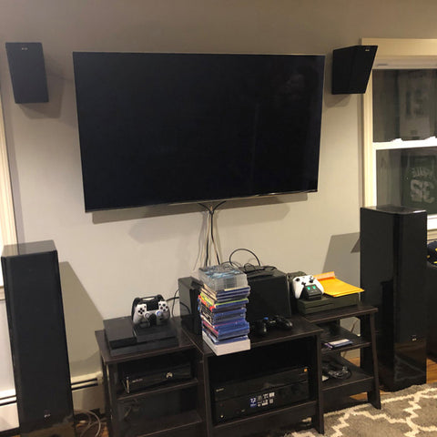 Featured Home Theater System: Jeff in Groveland, MA