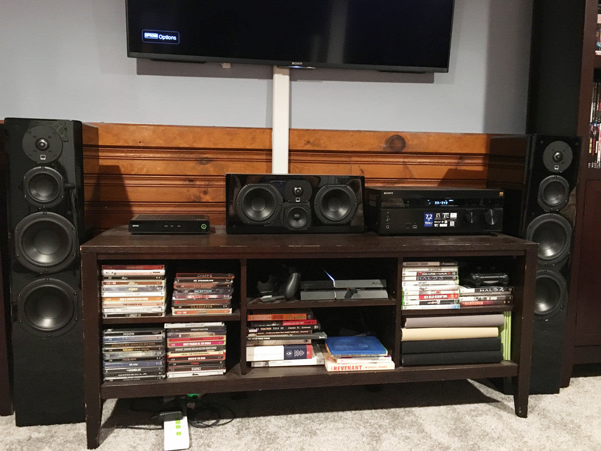 Featured Home Theater System: Jeff in Waltham, MA