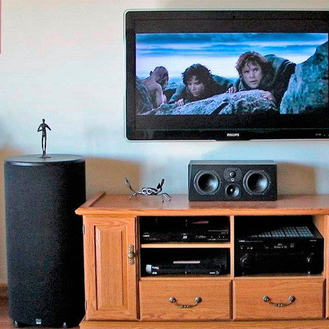 Featured Home Theater System: Jim in Shoals, IN