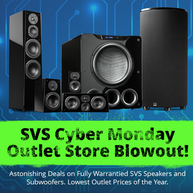 November 2018 SVS Cyber Monday Outlet Store Blow Out Sale 3000 Series Now Shipping Earth Shaking SB12 NSD Deal Were Slashing Prices To