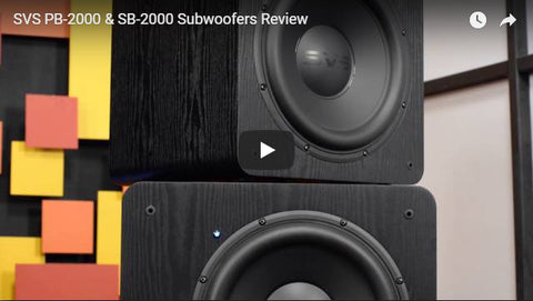 PB-2000 and SB-2000 - Video Review - Audioholics