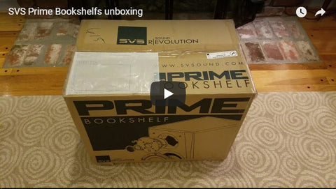 Prime Bookshelf - Unboxing - HomeTheatre101