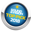 Sound & Vision - Top Pick of the Year 2018 Award