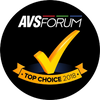 AVSForum - Top Choice 2018 Award