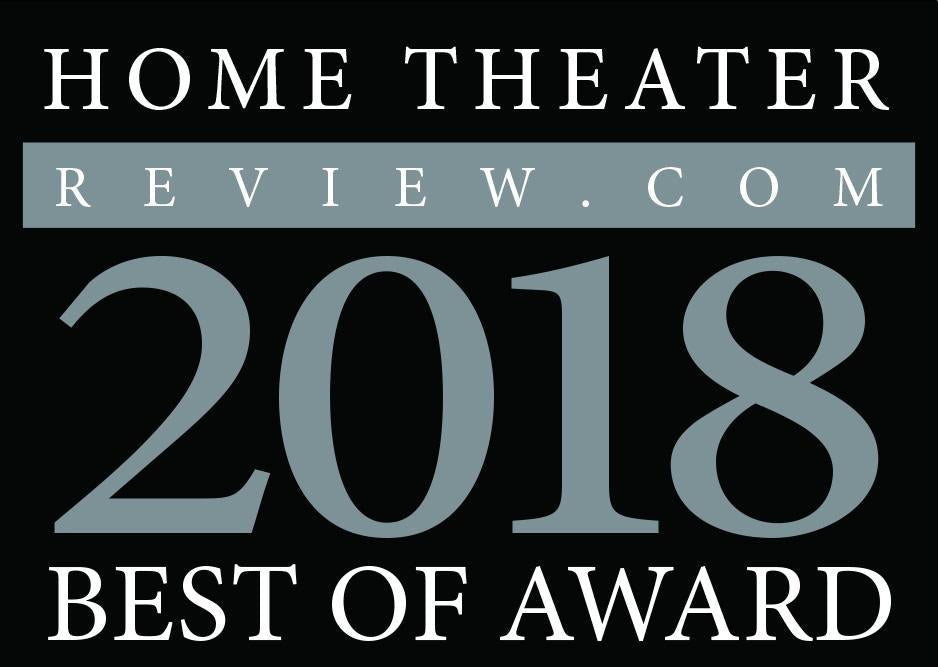 HomeTheaterReview.com - Best of 2018 Award