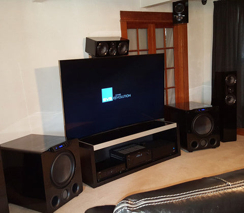 Featured Home Theater System: Rob in Englewood, CO