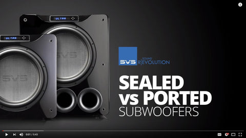 Comparing Ported vs. Sealed Subwoofers for Home Theater