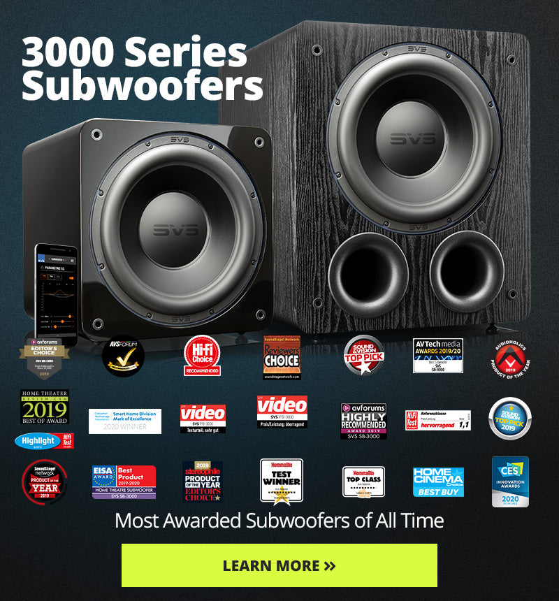 3000 Series Subwoofers - 4