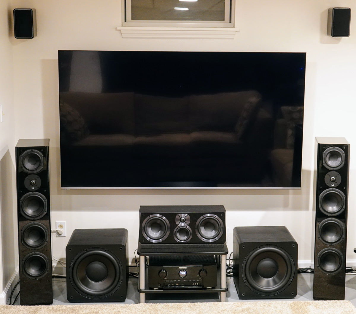 Featured Customer System with Dual SB-2000 Subwoofers