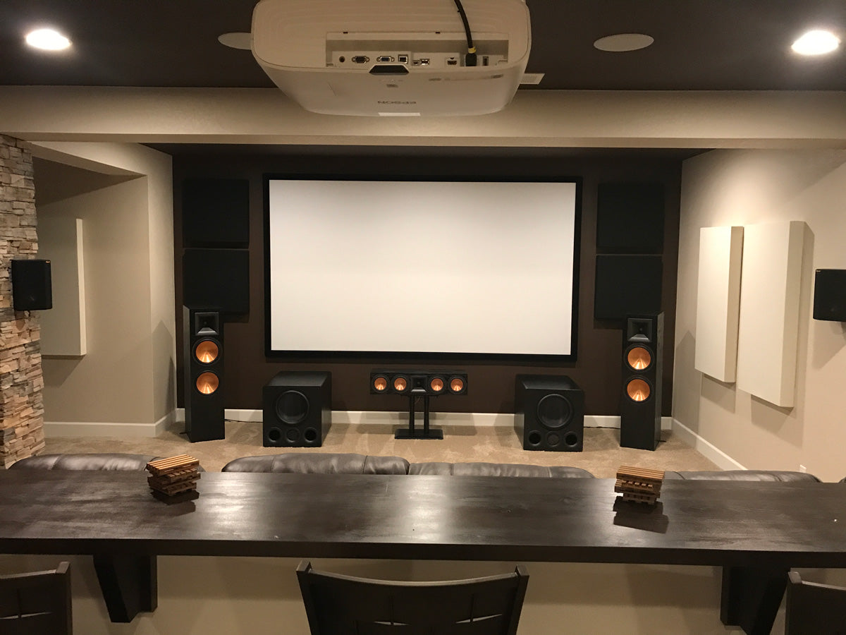 Featured Home Theater System: Chad S  in Denver, CO – SVS