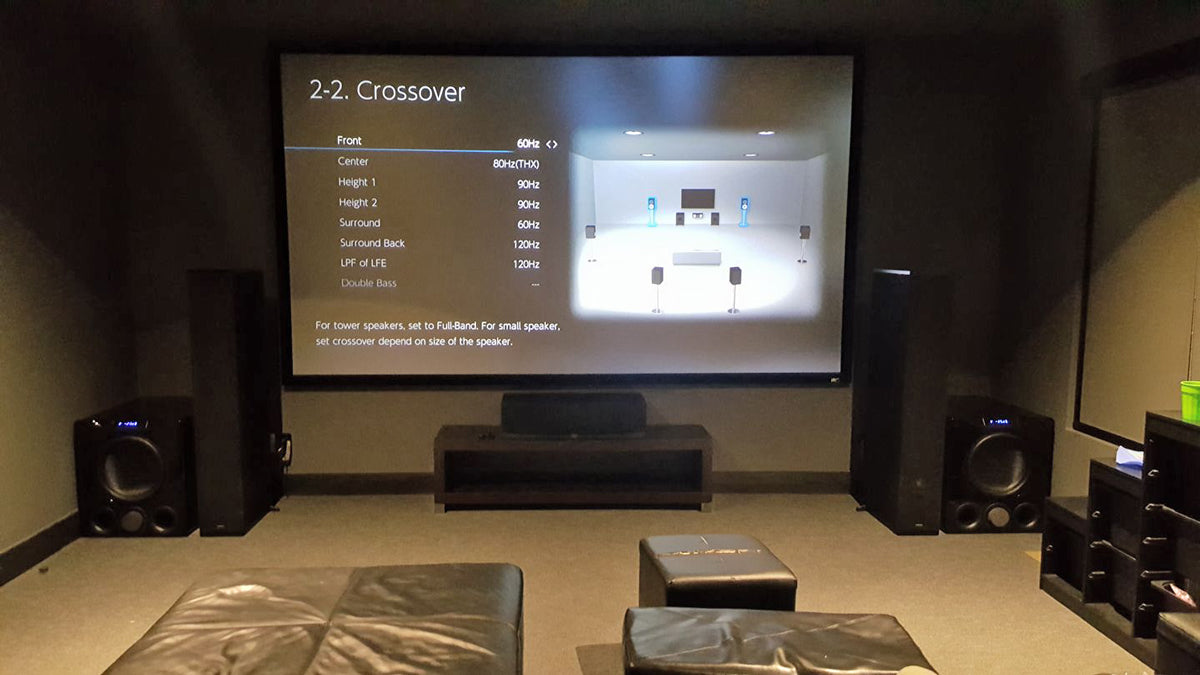 Earth Shaking Home Theater With Four Svs Pb16 Ultra Subwoofers